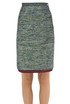 Lurex pencil skirt CO/TE