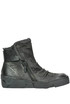 Textured leather ankle boots A.S. 98