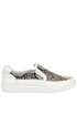 Reptile print slip-on sneakers Carshoe