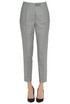 Herringbone cloth trousers Peserico