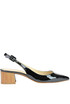 Sling-back pumps Helia