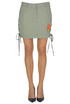 Cargo style mini skirt The Editor