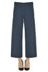 Virgin wool knit trousers D.Exterior