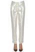 Metallic silk trousers Patrizia Pepe