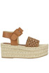 Eugenia woven leather wedge sandals Palomitas by Paloma Barcelò
