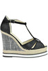 Big Dina wedge sandals Espadrilles
