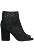 Flash cut-out suede ankle-boots Ash