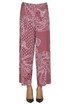 Printed jersey trousers Le Col Group
