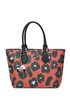 Animal print eco-leather shopping bag Vivienne Westwood Anglomania