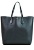 Leather shopping bag Rochas