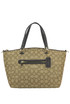 Designer logo canvas bag Coach