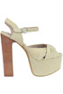 Donnas suede sandals Jeffrey Campbell