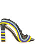 Multicolour leather sandals Paula Cademartori