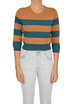 Striped cropped pullover Dries Van Noten