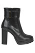 Leather ankle boots Atos Lombardini