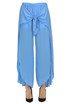 Crepe trousers Twin Set Beachwear