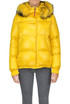 Eco-fur insert down jacket Freedomday