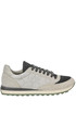 Suede and techno fabric sneakers Brunello Cucinelli