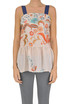 Flower print silk top Twin-set  Simona Barbieri