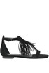 Friged suede sandals Kendall+Kylie
