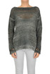 Cut-out knit pullover Base Milano