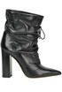Leather ankle boots Tiffi