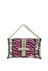 Animal print double-face clutch Ohmai