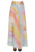 Printed long skirt Patrizia Pepe