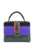 Petite Faye leather and suede bag Paula Cademartori