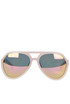 Aviator style acetate sunglasses KR3C5 Linda Farrow