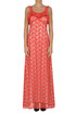 Macramè lace long dress Pinko