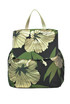 Flower print canvas backpack P.A.R.O.S.H.