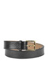 Reptile-print leather belt Rochas