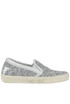 Glittered leather slip-on sneakers Philippe Model