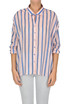 Piccone striped cotton shirt Pinko