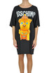 Satin maxi t-shirt dress Moschino Couture