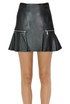 Leather mini skirt Michael Michael Kors