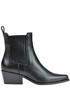 Leather ankle boots Diesel Black Gold