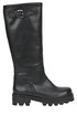 Leather biker boots C.G. Berlin
