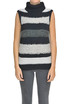 Striped sleeveless pullover Cappellini