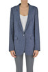 Cotton and linen blazer Dondup