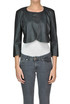 Cropped eco-leather jacket Pinko