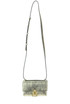 Luckbag metallic effect leather mini bag Andrea Incontri