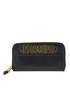 Designer logo leather wallet Moschino Couture
