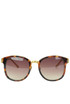 Acetate and metal sunglasses LFL259C5 Linda Farrow
