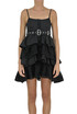 Flounced mini dress Diesel Black Gold
