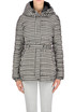 Hound's-tooth print down jacket Salco