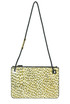 Animal print leather shoulder bag Zanchetti