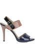 Patent-leather sandals Tipe e Tacchi