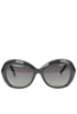 Multifaceted round frame sunglasses LFL85C7 Linda Farrow